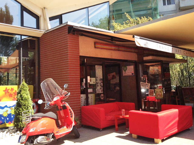 Tranzit Art Café, Budapest