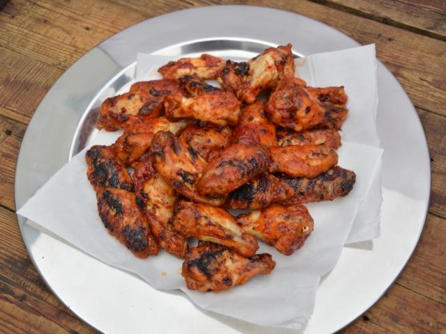Csípős-mázas csirkeszárnyak