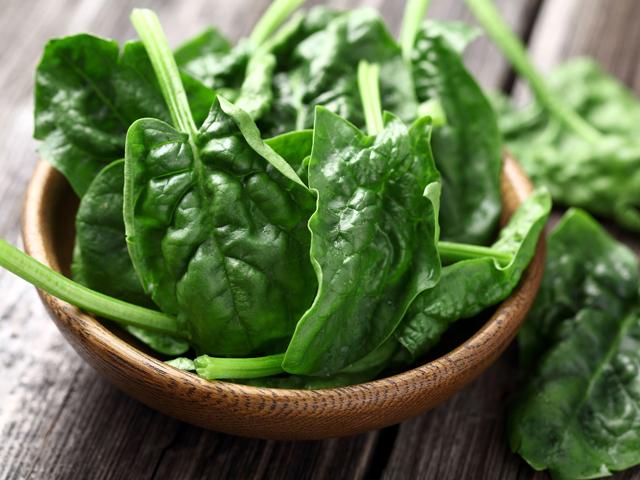Csupazöld zöldségkrémleves