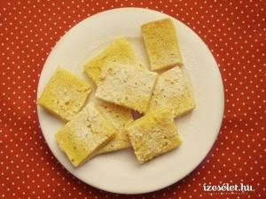 Amerikai citromkrémes szelet