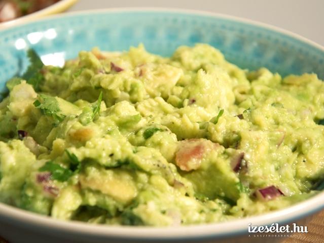 Guacamole, a szuper egészséges avokádókrém