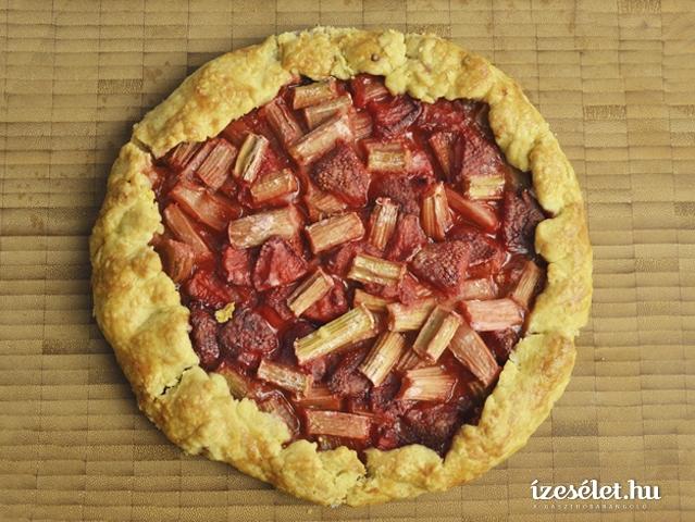 Epres-rebarbarás omlós pite
