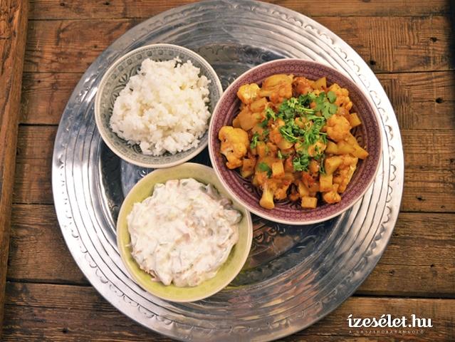 Indiai uborkasaláta sárgarépával (raita)