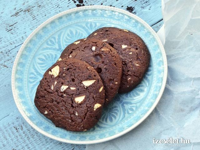 Fűszeres, csokoládés keksz