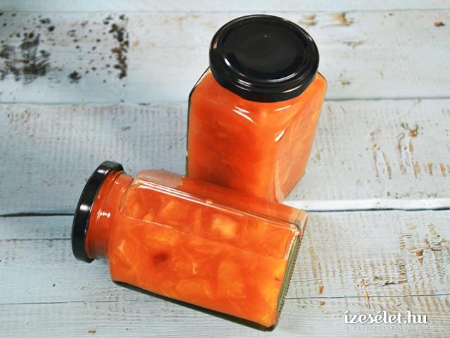 Camparis narancslekvár