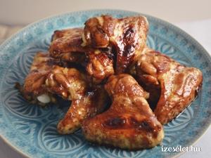 Mázas csirkeszárny