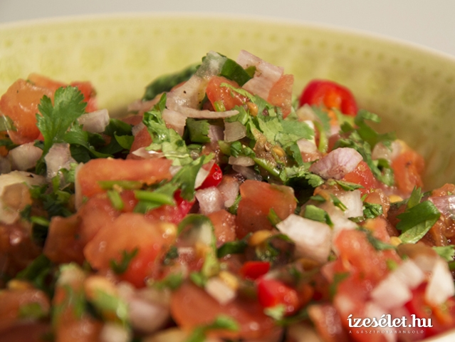 Mexikói paradicsom salsa (pico de gallo)
