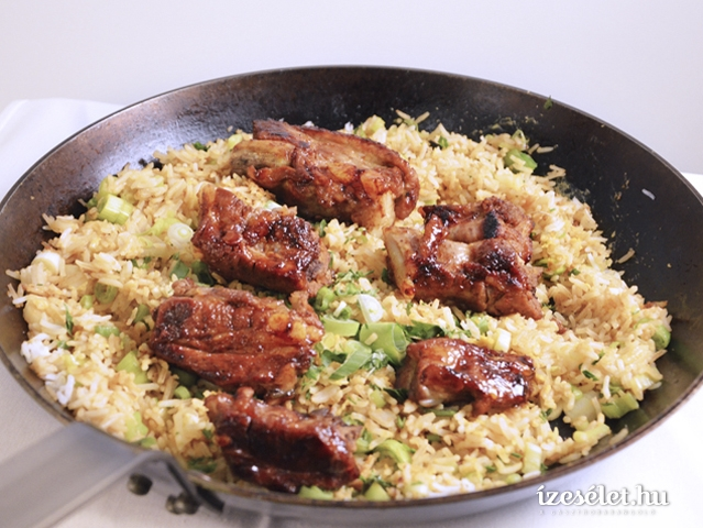 Kínai, serpenyős, tojásos rizs