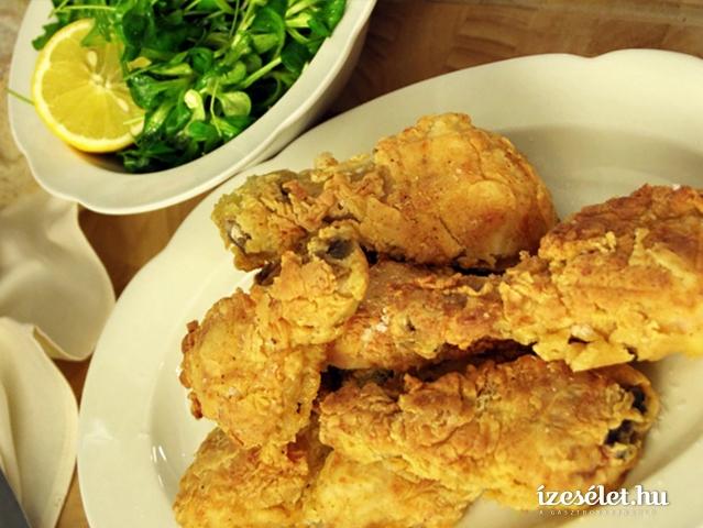 A szuperropogós omlós rántott csirke titka