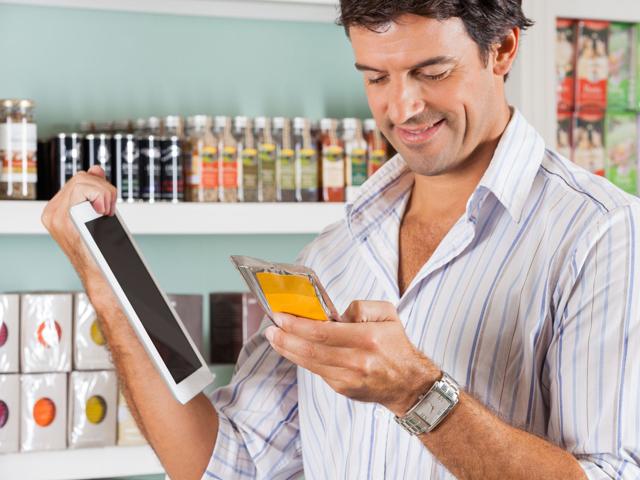 Férfias bevásárlás – appok és cetlik