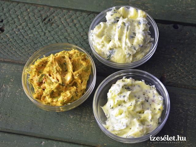 Fűszervaj háromféleképpen
