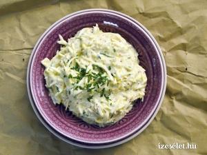 Zeller majonézes mártásban (rémoulade)