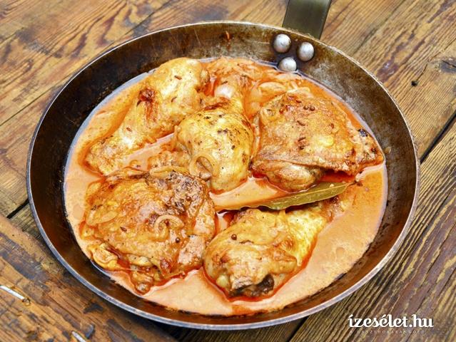 Fűszeres krémes sült csirke