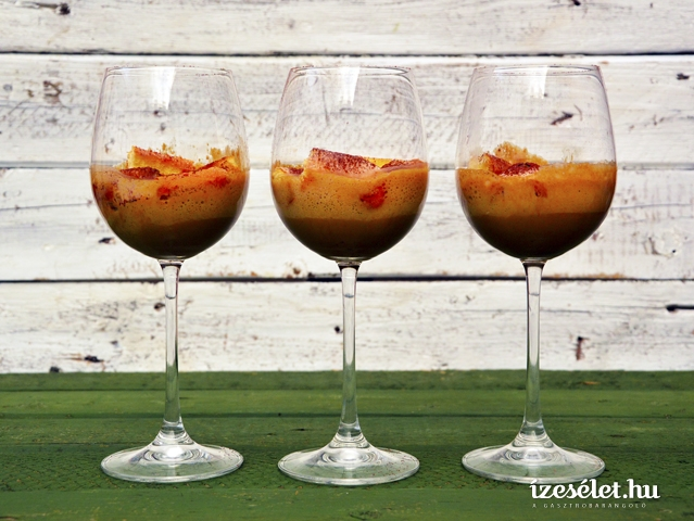 Villámgyors, likőrös poharas tiramisu