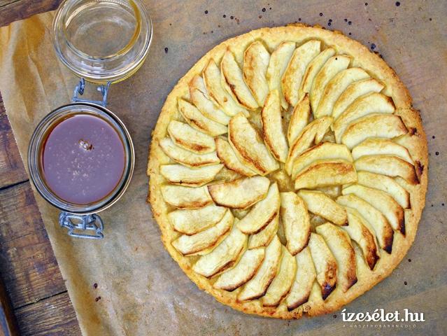 Francia almás sütemény
