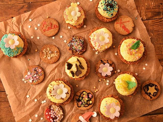 Mézeskalácsos cupcake sütőtök krémmel - Mikulásváráshoz