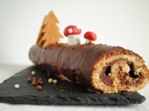 Csokoládékrémes fatörzs