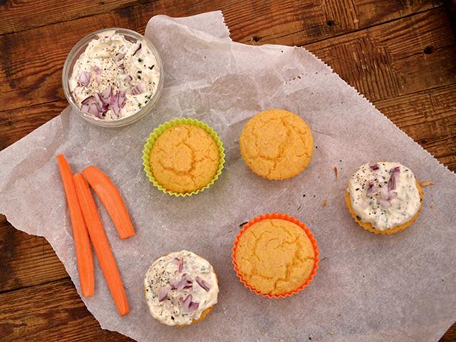Kukoricadarás, sós muffin gyorsan, egyszerűen