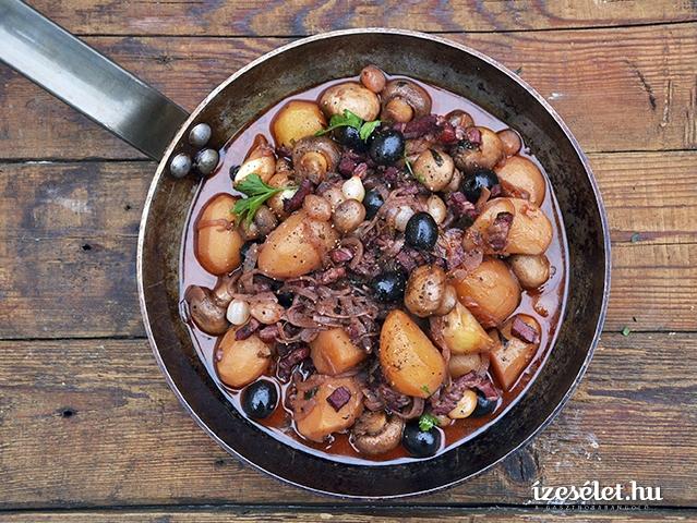 Vörösboros paprikás krumpli