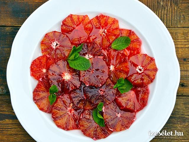 Szuperegészséges desszert: narancssaláta