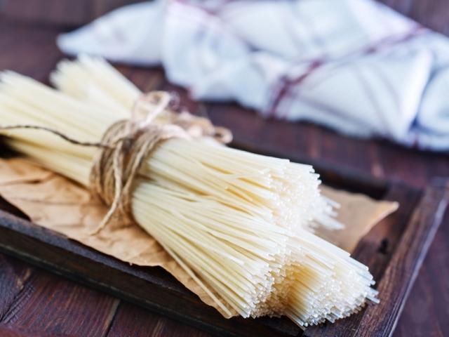 A rizstészta és főzése
