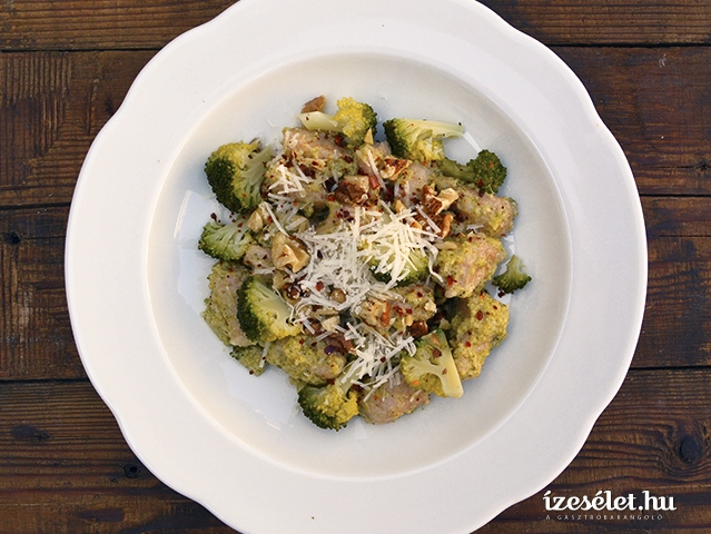 Gnocchi brokkolipesztóval