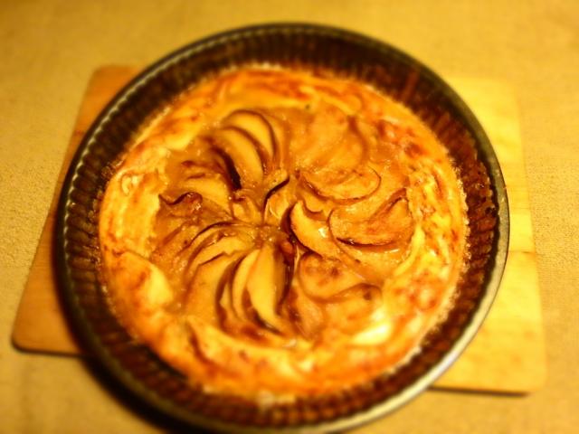 Almás, fűszeres galette