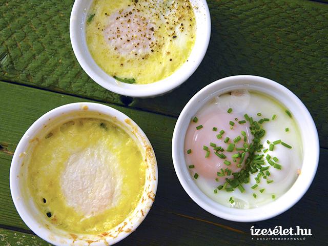 Spenótos tojás háromféleképpen