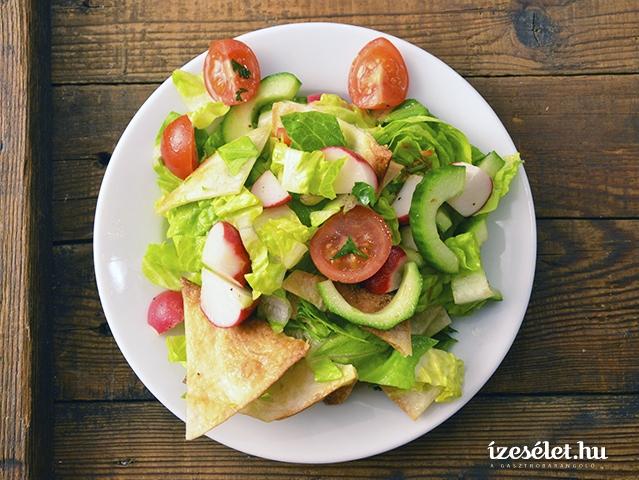 Tavaszi citromos saláta (fatus)