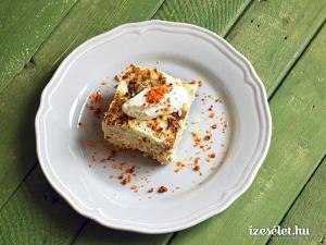 Rakott karfiol kolbászos morzsával és fokhagymás tejföllel