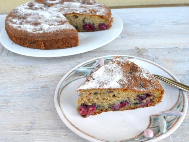 Meggyes sütemény (gluténmentes)