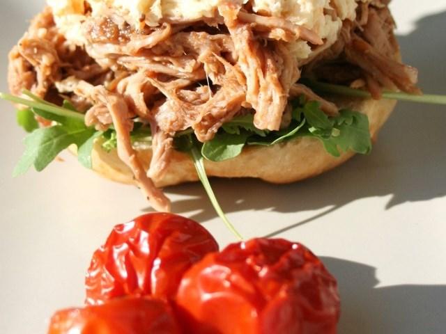 Pulled pork szendvics