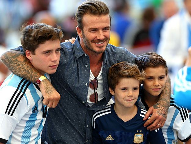 David Beckham, a tésztakirály