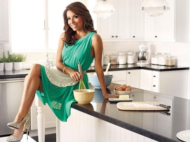 Eva Longoria, a mexikói konyhatündér