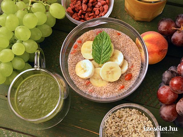 Energetizáló gyümölcs- és zöldségturmixok