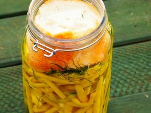 Egy perc és kész – kovászos zöldbab