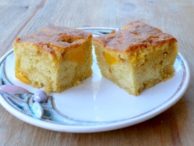 Őszibarackos, olívaolajos sütemény (gluténmentes)