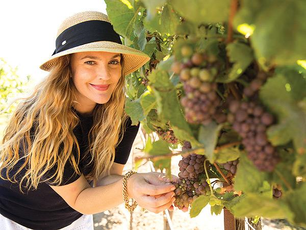Drew Barrymore, a szexi borosgazda