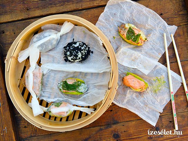 Steamboo, a gőzölt sushi
