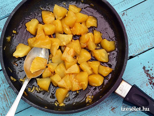 Gyömbéres almakompót