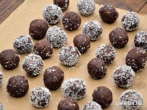 Egészséges csokigolyók