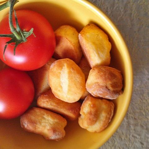 Krumplis pogácsa - tej- és tojásmentesen