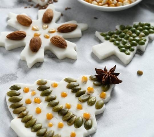 Karácsonyi ajándékötlet só-liszt gyurmából