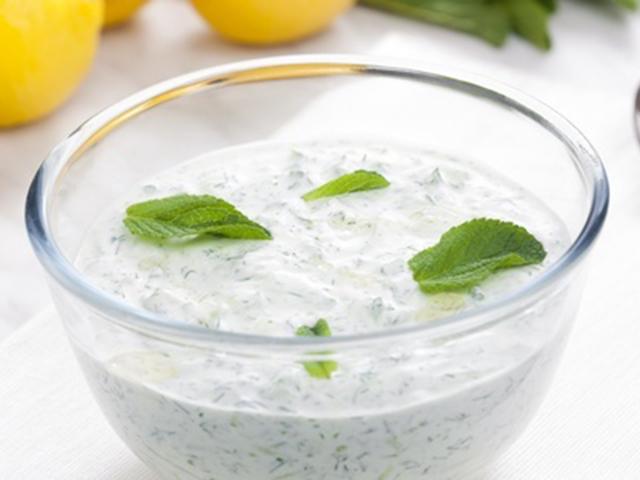 Tzatziki (tej-és tojásmentes recept)