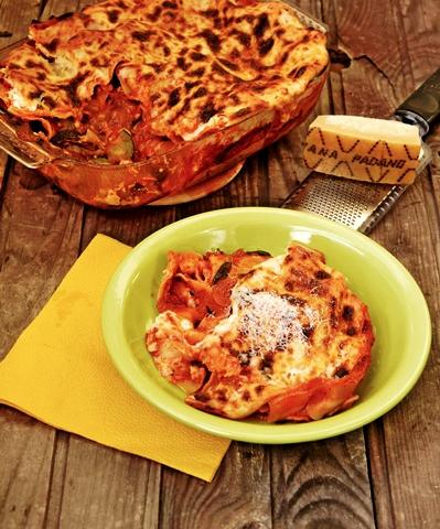 Hús nélküli lasagne