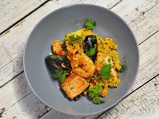 Spanyol paella