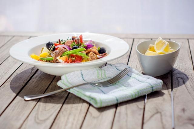 Konyhasuli franciául: Nizzai saláta