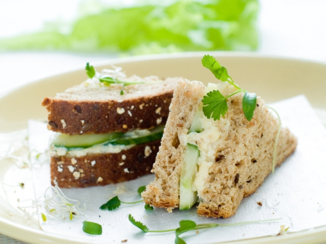 Healthy sandwich with fresh cucumber and egg_00000