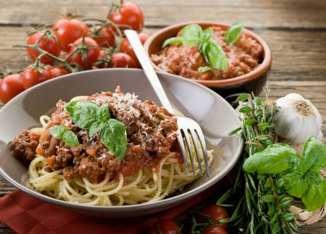 Spagetti bolognai szósszal