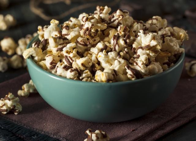 Étcsokis popcorn